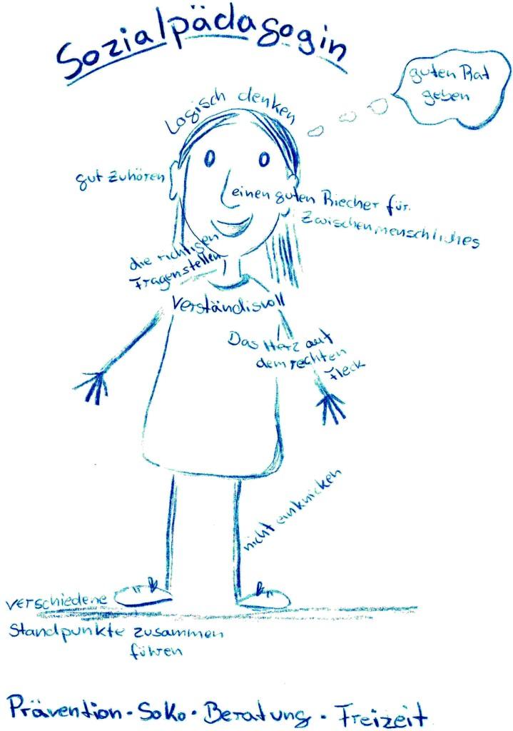 Was machen die Sozialpädagoginnen?