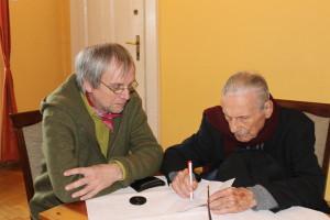 2014 nach dem Vortrag in Krakow