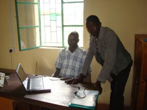 Schulleiterbüro in Tuum
